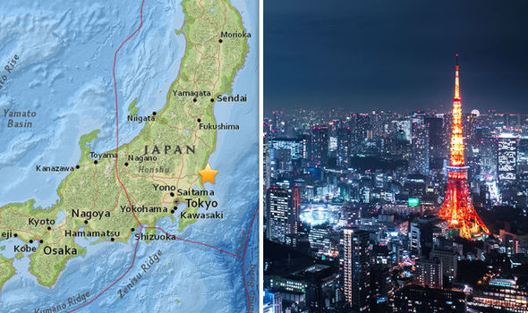 Tokyo hit by 5.3 magnitude EARTHQUAKE as 'BUILDINGS SHAKE' in Japan capital