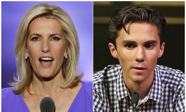 Fox News: ads pulled from Laura Ingraham show for mocking Parkland survivor