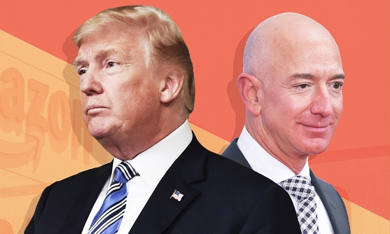 Trump continues attacks on Amazon and Washington Post