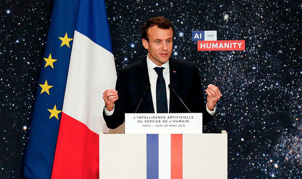 AI could threaten democracy: Macron issues warning