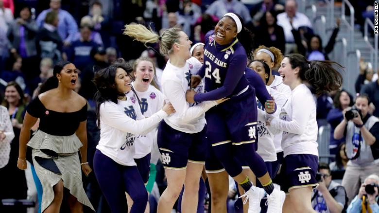 Notre Dame beats UConn, will face Mississippi State in NCAA Womens Championship