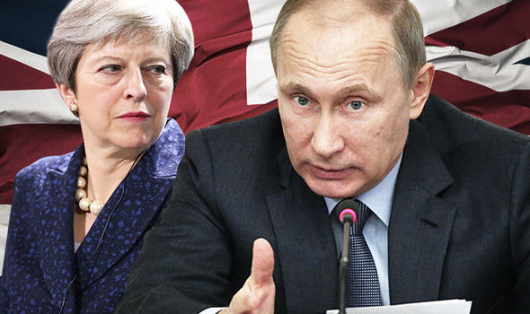 Putin hits back at Britain in SHOCK move: Russia orders 50 MORE UK diplomats to GO HOME