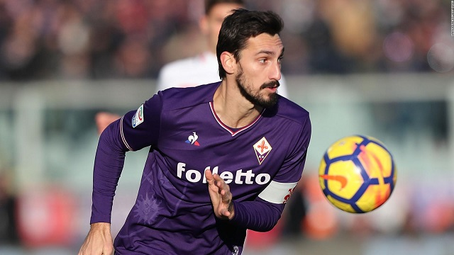 Fiorentina captain Davide Astori dies of sudden illness at 31, team says