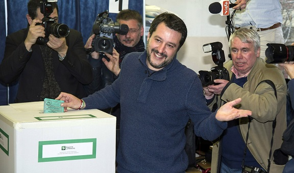 Victory for Eurosceptic, populist parties shocks the establishment in Italy election