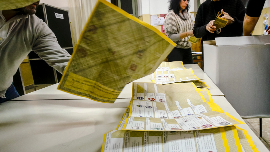 Italian election results cast a pall over the European Union