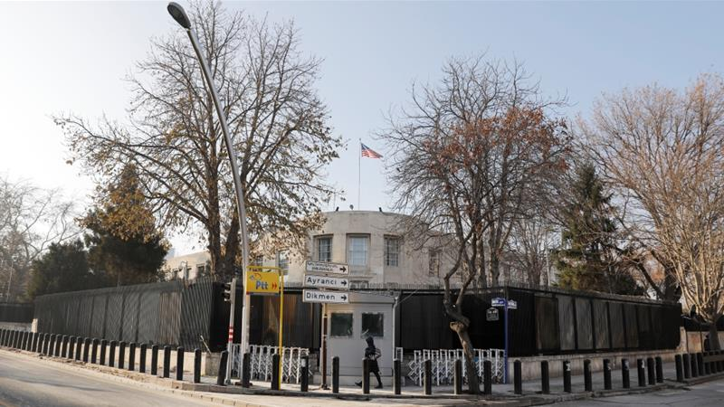 ISIS suspects arrested after US Embassy in Turkey closed due to security threat