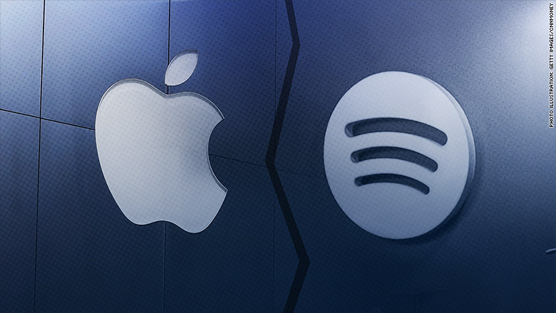 Inside the war between Spotify and Apple