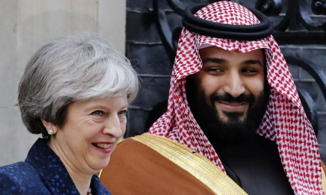 Saudi crown princes UK visit prompts heavy criticism by opposition