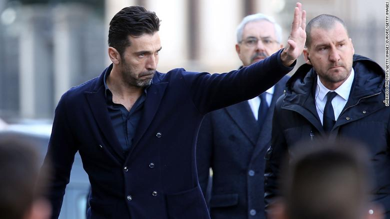 Davide Astori: Thousands gather for funeral of Fiorentina captain