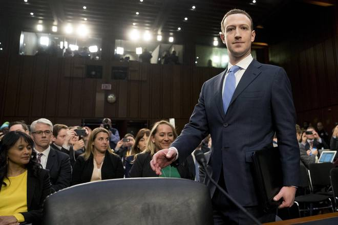 Mark Zuckerberg apologises to U.S. Congress over massive Facebook breach
