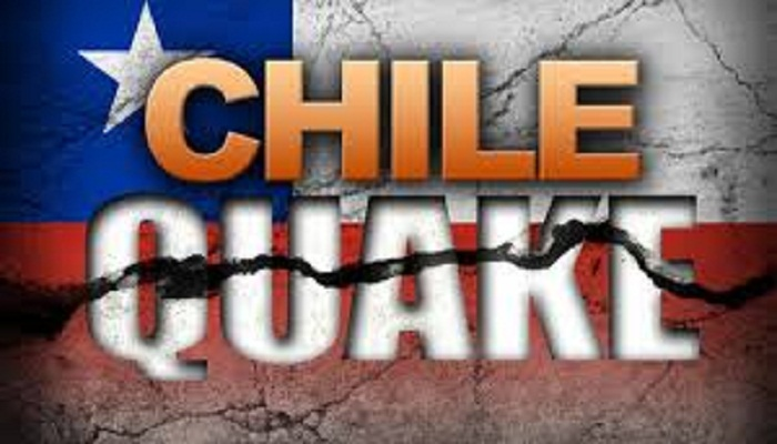 Magnitude 6.2 quake strikes Chile, no damage reported