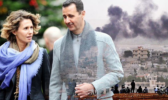 Bashar al-Assads British wife Asma is the First Lady of HELL