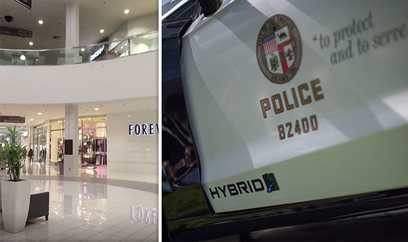 SHOTS fired inside Los Angeles mall – Police SHOOTOUT with suspect