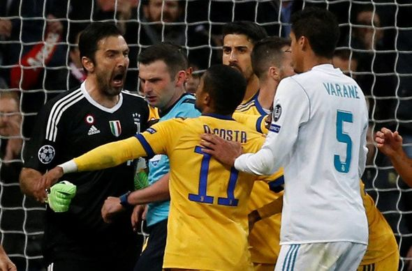 Real Madrid 1-3 Juventus: Gianluigi Buffon sent off; Cristiano Ronaldo nets winner