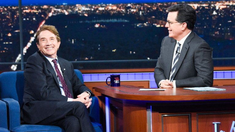 Martin Short Roasts Stephen Colbert: Paul Ryan Without the Gym Membership