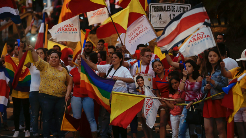 Same-sex marriage supporter easily wins Costa Rica elections