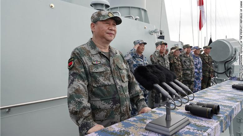 Xi Jinpings China shows off force in South China Sea