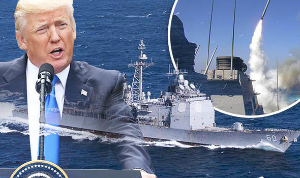 Trump prepares for Syria WAR: US Navy warships head to the Med in HUGE show of force