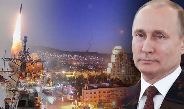 Russia claims Syria SHOT DOWN more than two thirds of US and British missiles last night