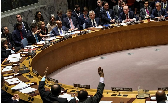 UN Security Council rejects Russia's call to condemn U.S.-led airstrikes in Syria