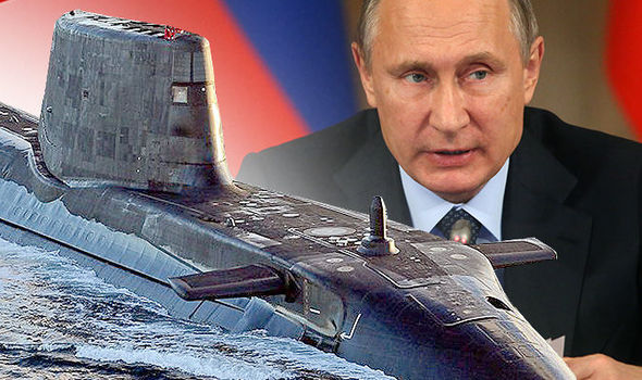 Syria attack: British submarine hunted by Russian subs in deadly cat and mouse game