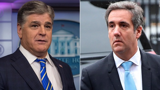 Michael Cohens mystery third client is Sean Hannity