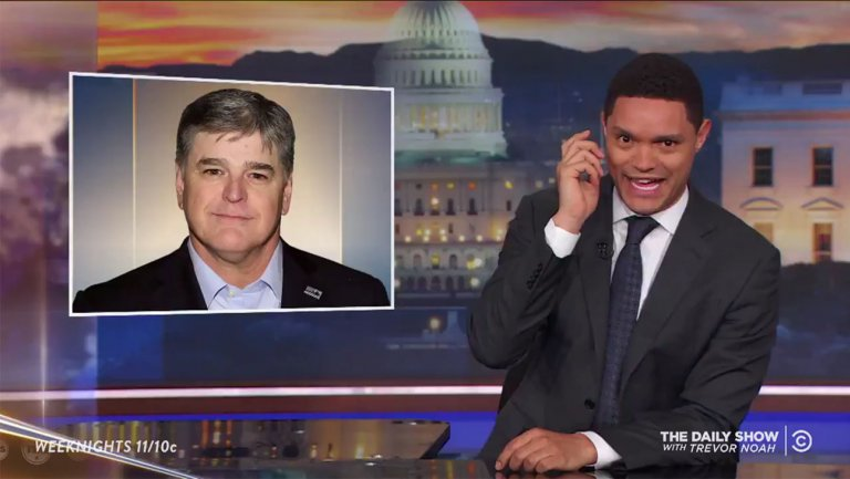 Late-Night Hosts Slam Sean Hannity for Sharing Trump Lawyer
