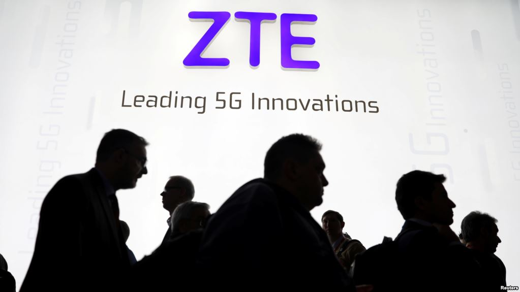 US Cuts Off Chinas ZTE From American Tech for Seven Years