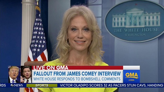 Kellyanne Conway: Comey 'Loved Being Alone In The Oval Office'