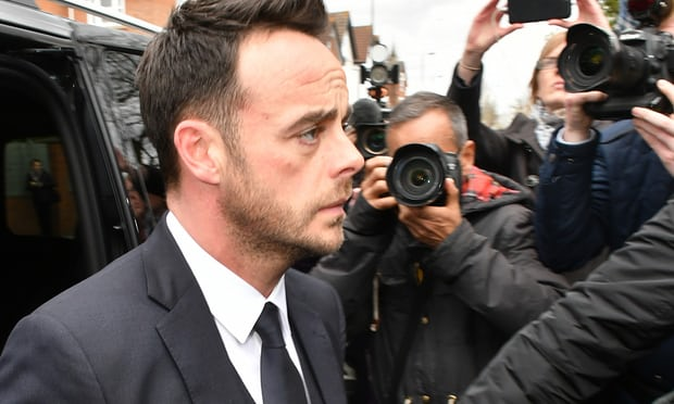 Ant McPartlin fined £86,000 for drink-driving
