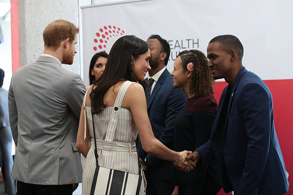 COUNTDOWN BEGINS! Meghan and Harry shine at Commonwealth event four weeks ahead of wedding