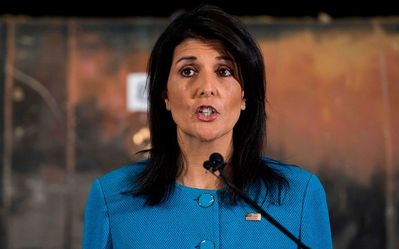 Nikki Haley hits back at White House claims she is confused over Russia sanctions