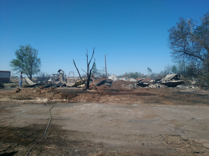 Oklahoma Wildfires Leave At Least 2 Dead, 20 Injured