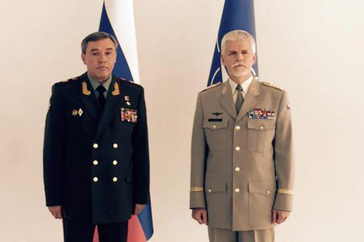 Russia, NATO military chiefs meet in Azerbaijan