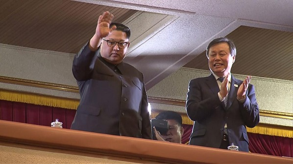 North Korea's Kim Jong Un attends South Korean pop stars' show in Pyongyang