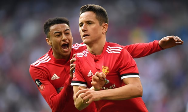 Manchester United's Ander Herrera sinks Tottenham in semi-final