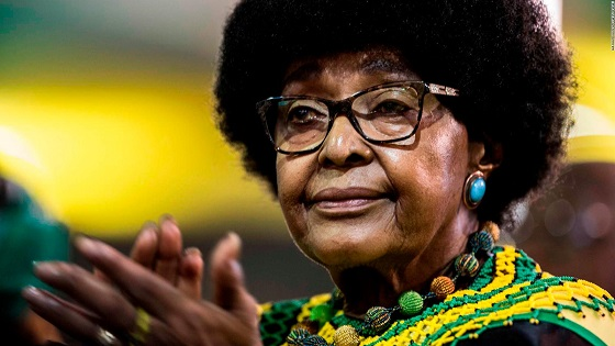 Winnie Mandela, anti-apartheid activist, dies aged 81