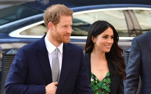 Prince Harry and Meghan Markle meet Sydney Invictus heroes