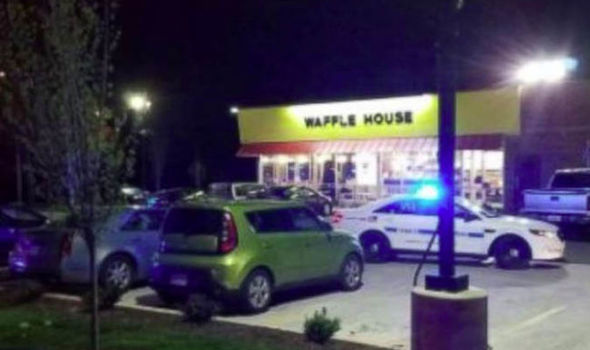 Waffle House shooting: Naked gunman opens fire in Nashville restaurant - 3 dead, 4 injured