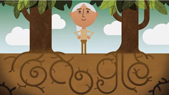 Jane Goodall Celebrates Earth Day in Sundays Google Doodle
