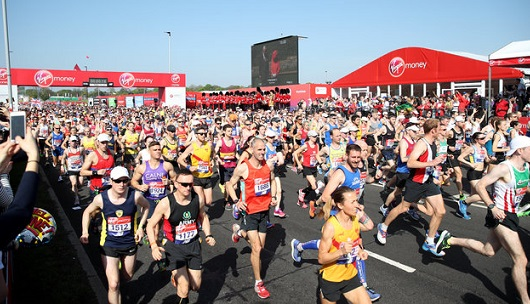 London Marathon Beats Record For Hottest Ever