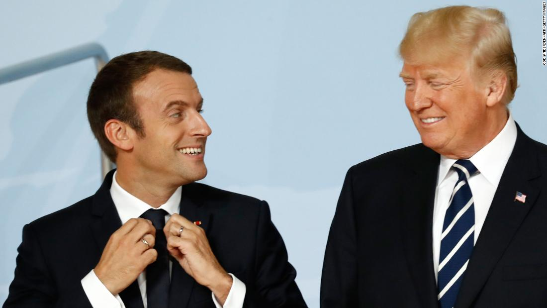 Macron to put 'bromance' with Trump to the test during US visit