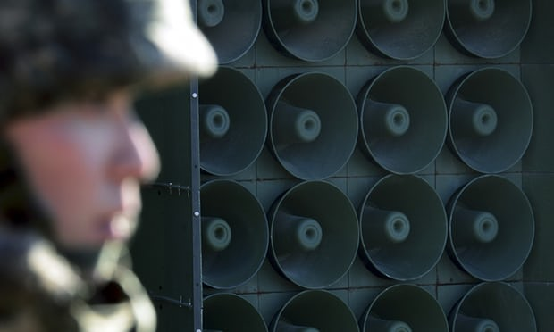 South Korea silences cross-border propaganda broadcasts before summit
