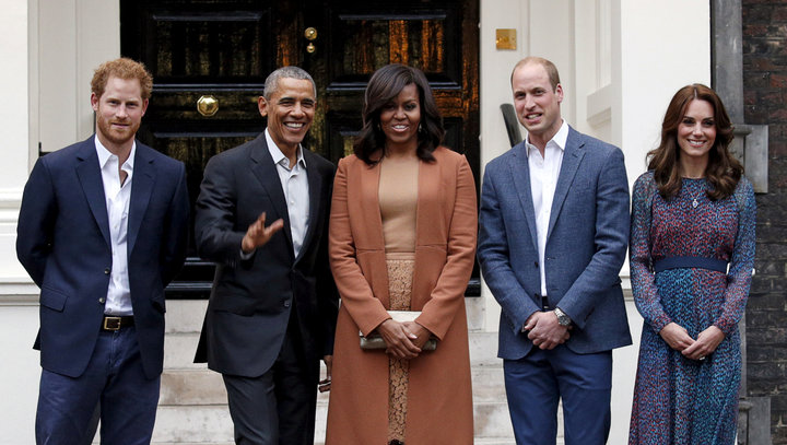 Michelle Obama Sends Sweet Message To The New Royal Baby