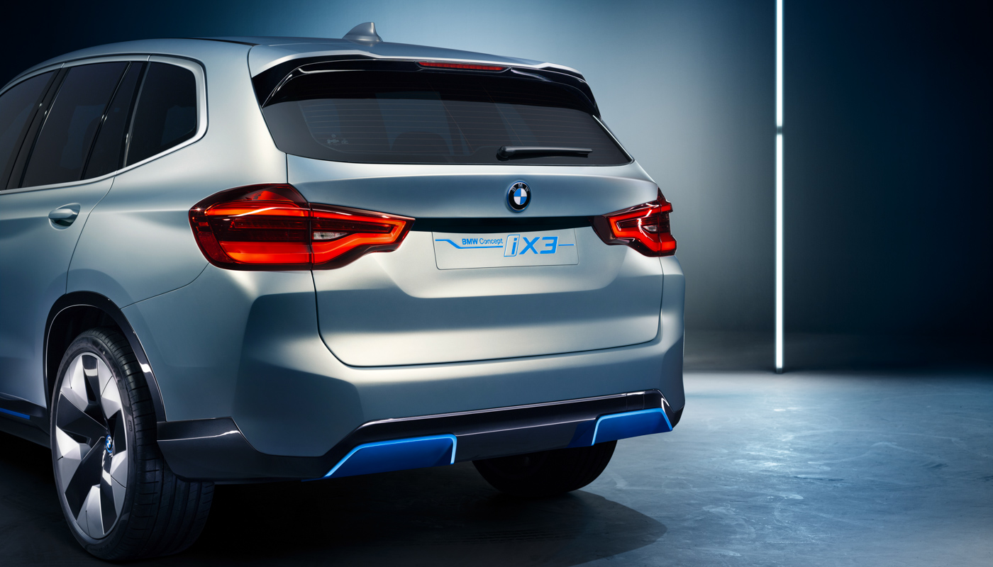 BMWs Concept iX3 dials back the futuristic styling