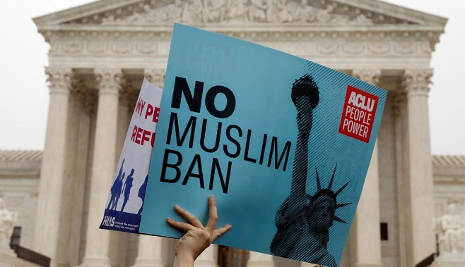 U.S. Supreme Court weighs legality of Trumps travel ban