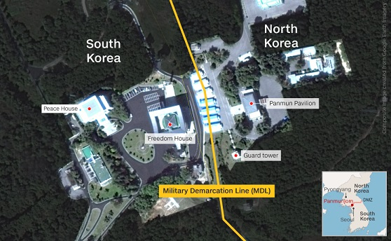 Kim Jong Un to cross line at DMZ: Heres what will happen