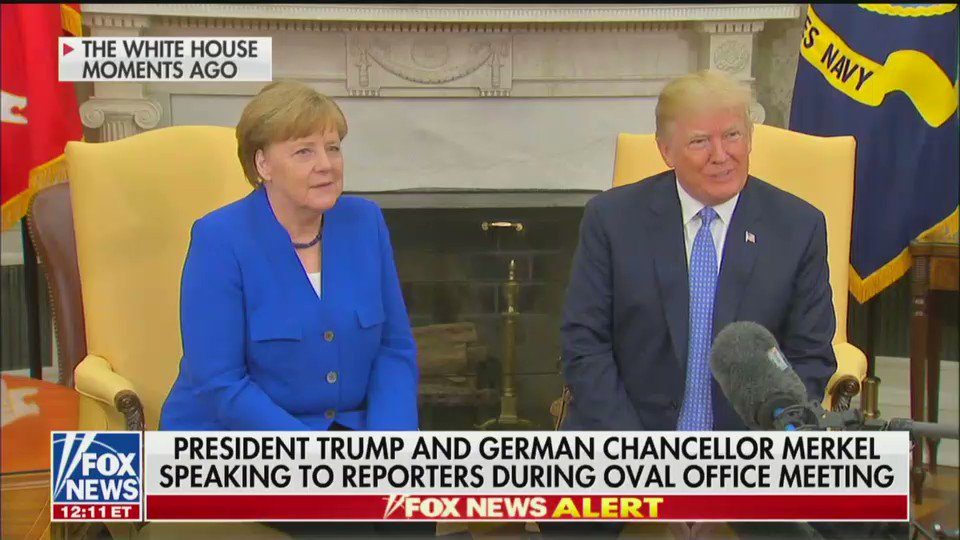 President Trump and Germanys Merkel hold press conference