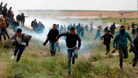 Israeli forces kill three Palestinians amid protests along Gaza border