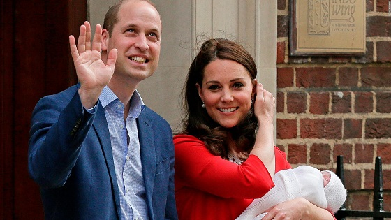 Prince Louis: Royals name third child
